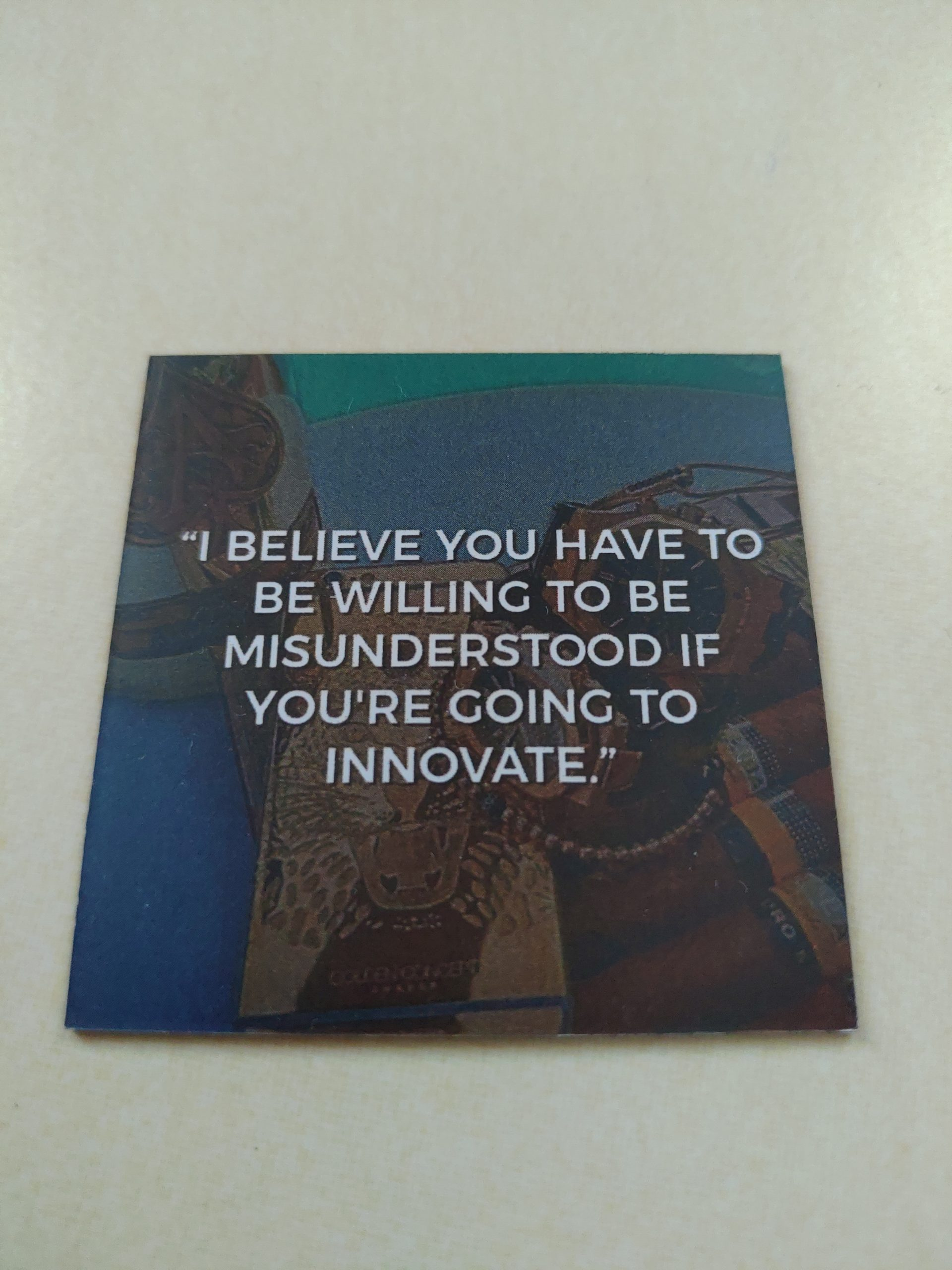 Giveaway : Matted Inspirational magnet
