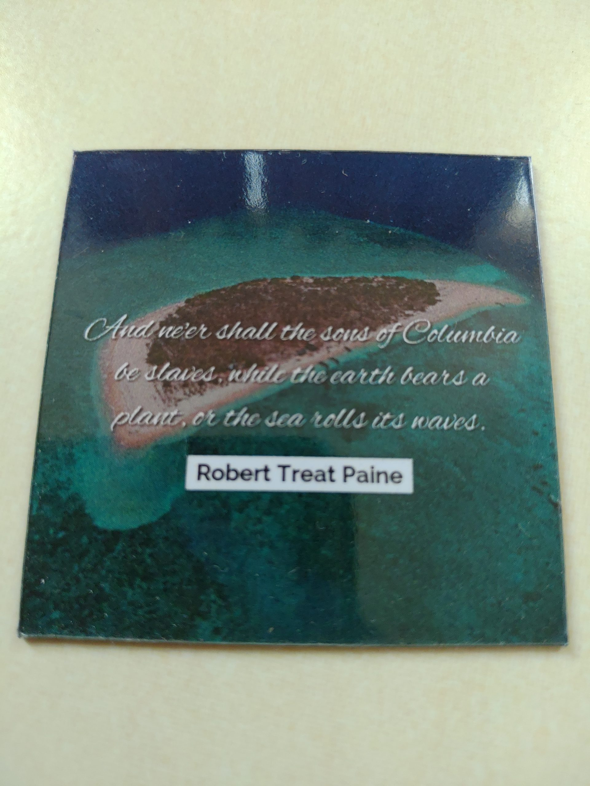 Giveaway : Glossed Ocean and Sea magnet