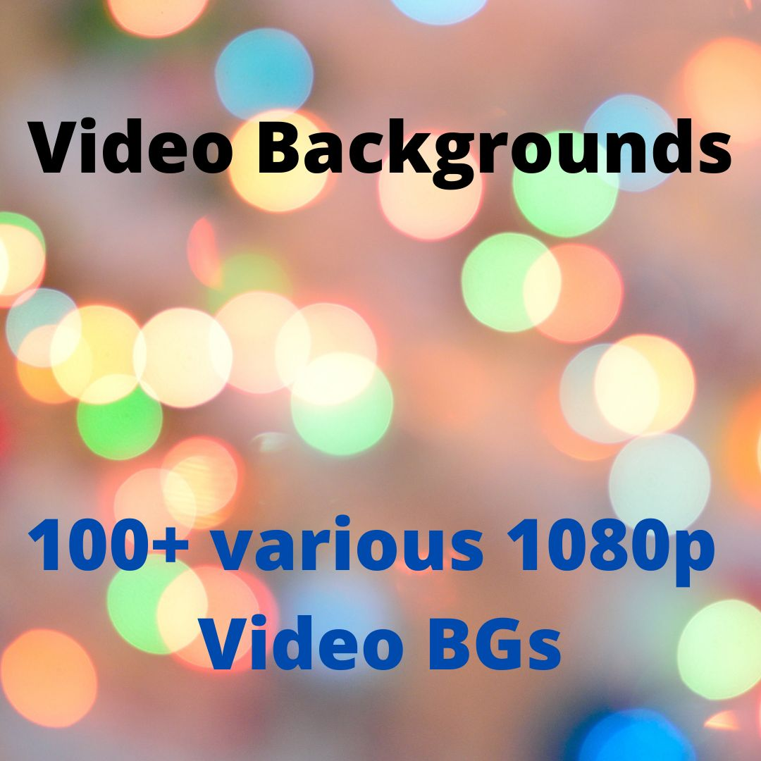 100+ Various 1080p Video Backgrounds