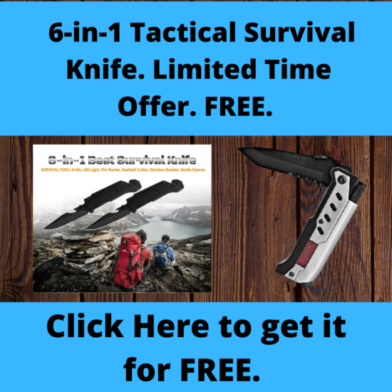 6-in-1 Tactical Survival Knife